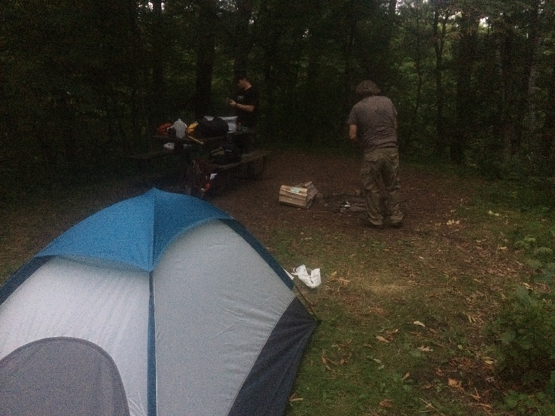 Wild River State Park One Night Camp